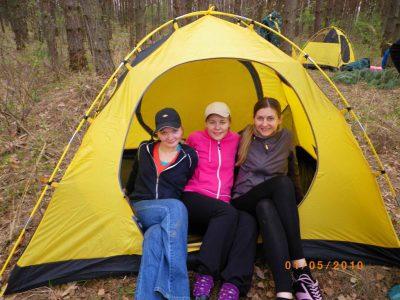 Палатка для сплава