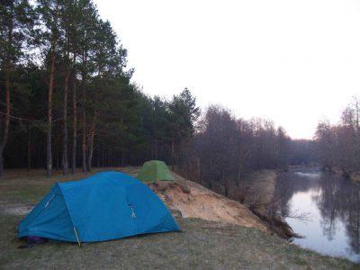 Сплав по реке - 1 мая