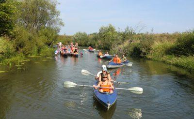 Сплав по реке Киржач