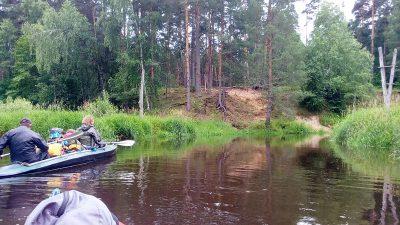 Сплавы в Московской области