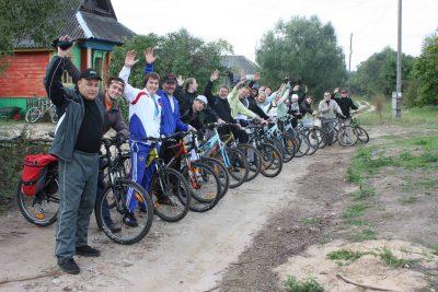 Команда ГазПрома на велотуре