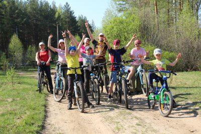 Велопоходы с детьми
