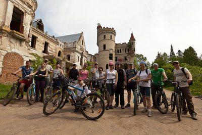 Участники велотура